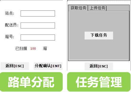 一号店配送PDA终端路单分配