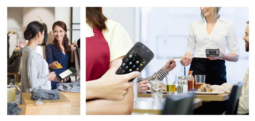 优博讯i9000S智能POS广泛适用于零售等行业