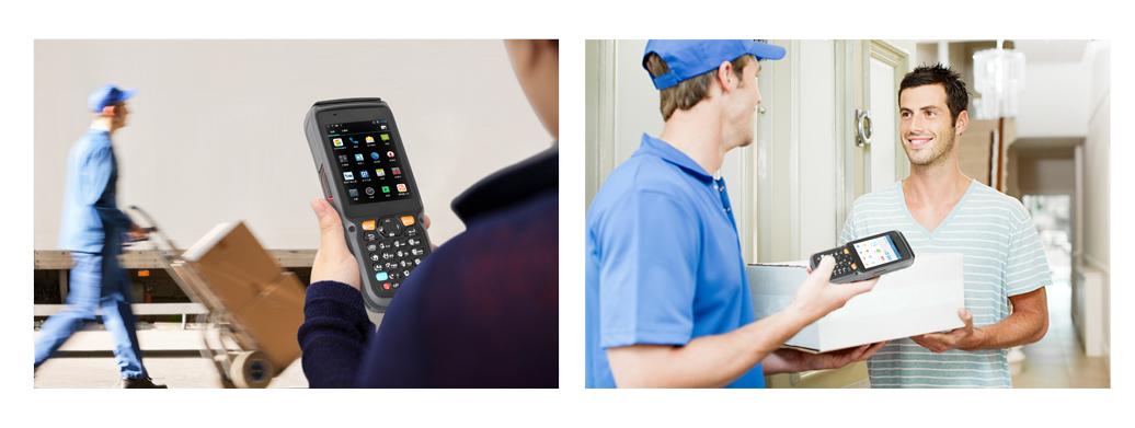 优博讯i9000A智能POS广泛适用于物流等行业