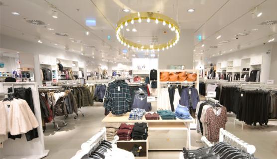 服装零售门店场景图