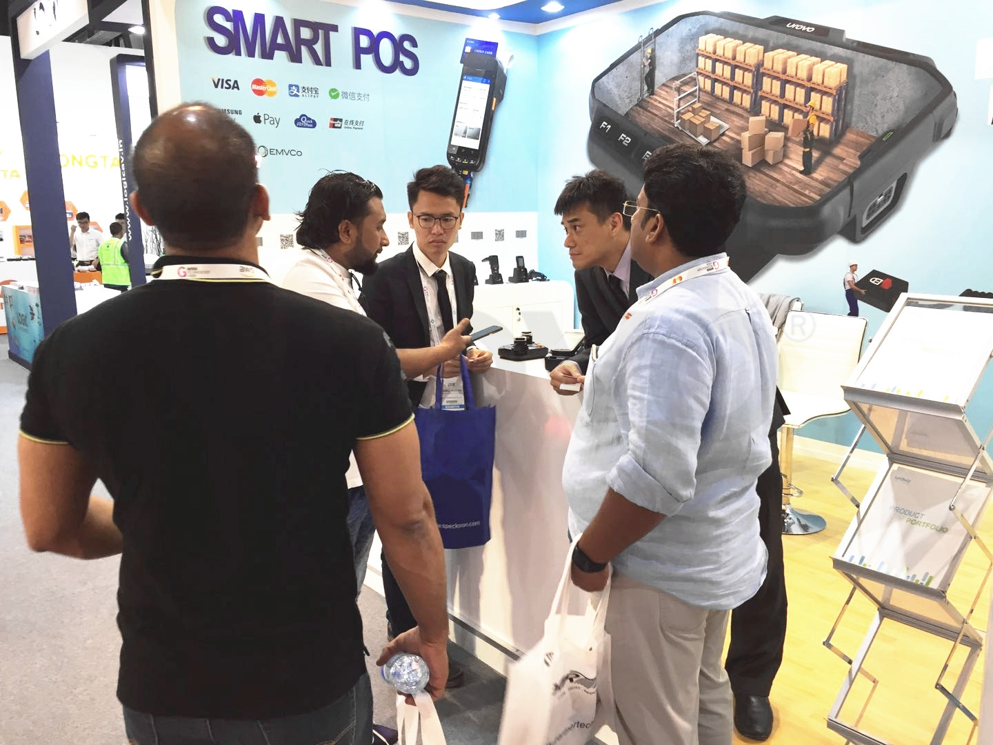 Urovo at GITEX 2017-1