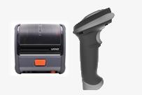 扫描枪与打印机